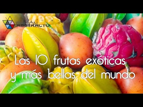 Las 10 frutas exóticas y más bellas del mundo