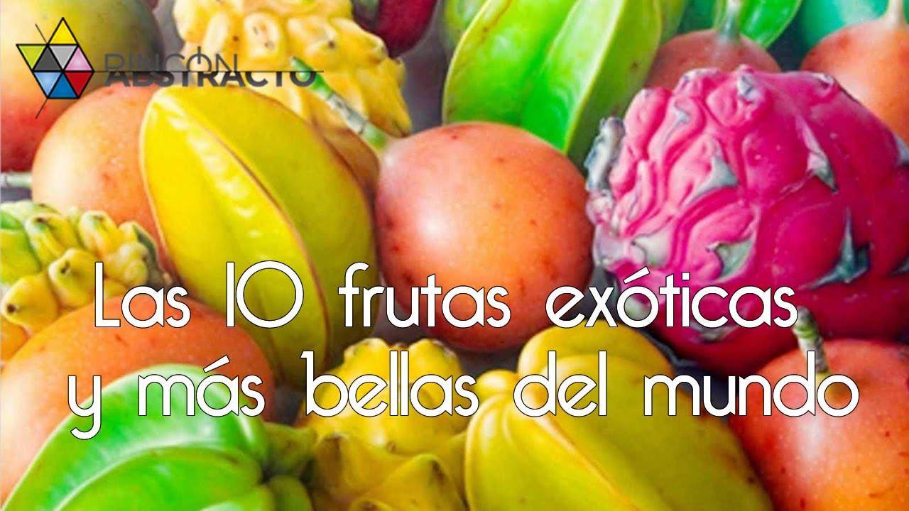 Las 10 frutas ex ticas y m s bellas del mundo youtube - Frutas tropicales y exoticas ...