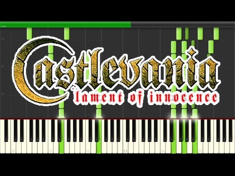 Castlevania - Lament of Innocence - Lament of Innocence (Leon's Theme) (Piano Tutorial, Synthesia)