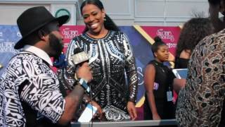 SMITH Tv: Nicci Gilbert Interview - Soul Train Awards 2016
