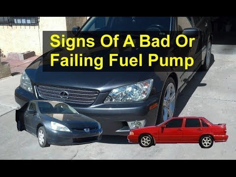 Top 5 symptoms or signs of a bad or failing fuel pump, in your car or truck. - VOTD