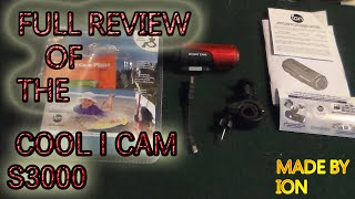 ION COOL-I-CAM S3000  ''REVIEW'' $60.00 ACTION CAMERA