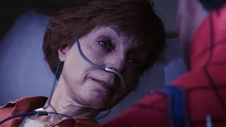 marvels spider-man ps4 aunt may's death cutscene