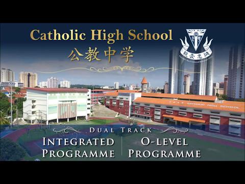 Catholic High School (CHS) - Flyover Video (April 2017)