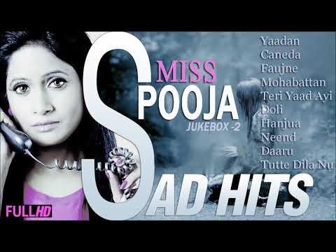 Dard-E-Dil   Miss Pooja Hits Punjabi Sad Song   Jukebox -2   Miss Pooja Collection -2