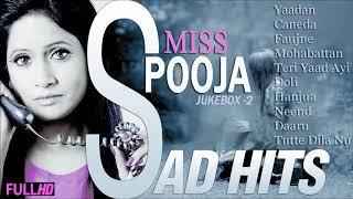 Dard-E-Dil | Miss Pooja Hits Punjabi Sad Song | Jukebox -2 | Miss Pooja Collection -2