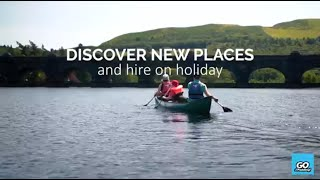 Discover your Go Paddling and hire on holiday | Family paddling adventures