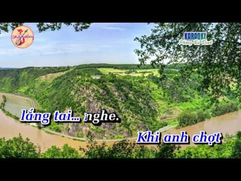 [Karaoke] Trích đoạn: Không Là Cát Bụi (độc diễn kép)