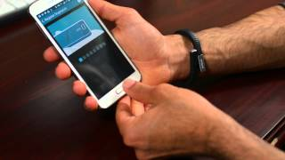 Samsung Galaxy S5 Fingerprint Scanner Demo