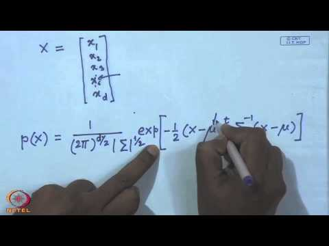 Mod-01 Lec-11 Probability Density Estimation