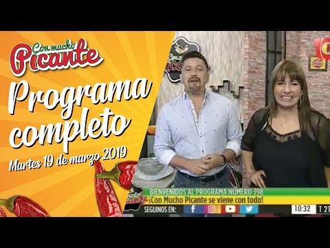CMP Con Mucho Picante - Programa Completo Nº398 19/03/2019 - YouTube