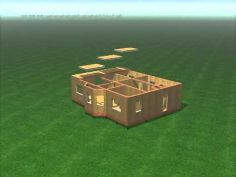 видео: Процесс строительства дома по канадской технологии