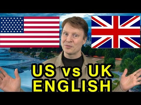 American vs British English | Saying Hello, Sorry and Slang | Learning English TV 28 Steve Ford
