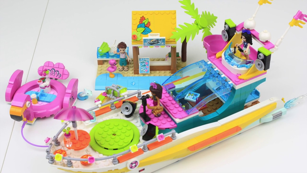 LEGO Friends 41433 Party Boat - YouTube