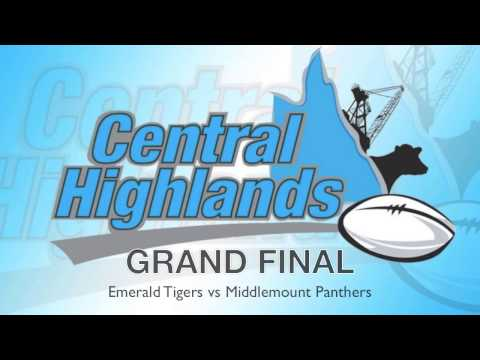 2016 Central Highlands Men's Grand Final