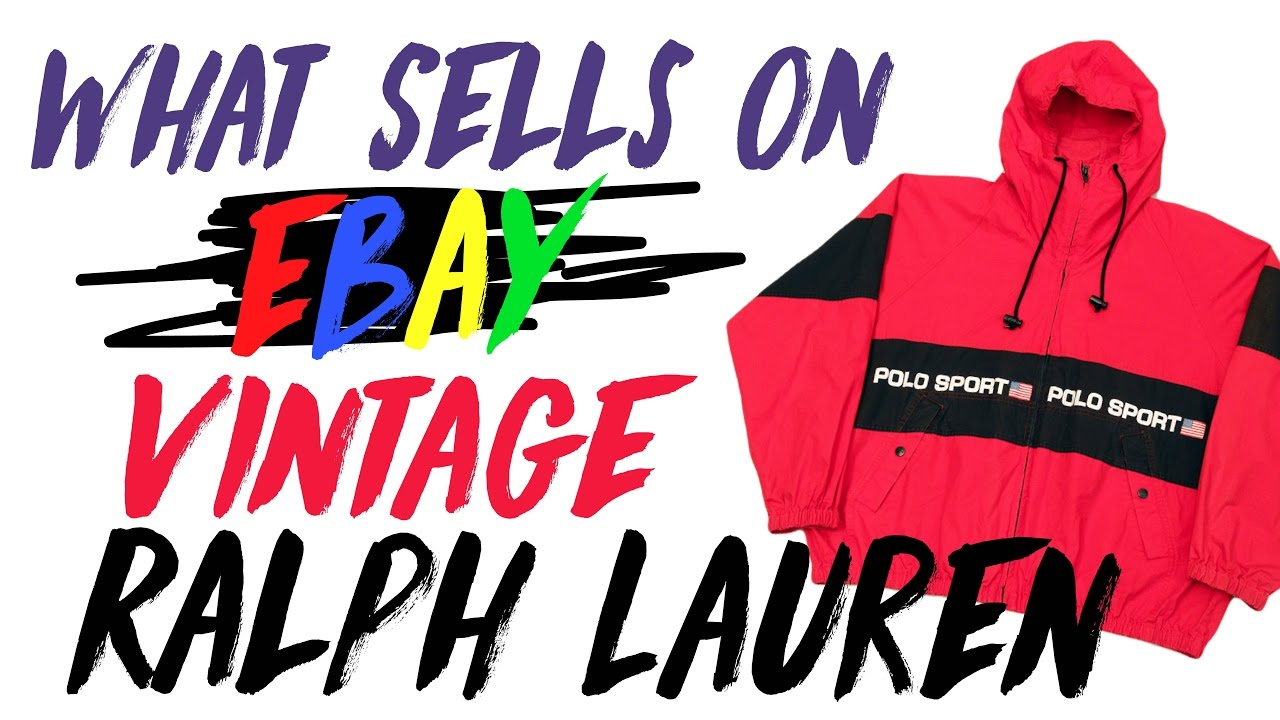 What Sells on eBay Vintage Polo Ralph Lauren from the 80s & 90s
