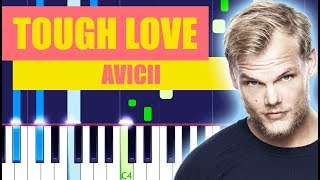 Avicii - Tough Love Piano Tutorial (ft. Agnes & Vargas & Lagola)