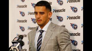 #Titans Post-Game Press Conference: Marcus Mariota