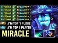 New Style Miracle- Storm Spirit vs Qupe Best Pudge Crazy Scepter Build No Bloodstone WTF Dota 2