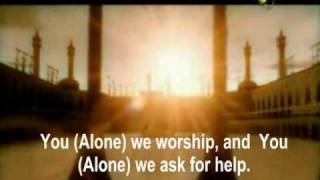 A Warning to all mankind Surah Al Fateha with Subtitle Editor Hares Mohmand