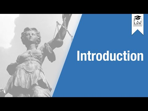English Legal System - Introduction