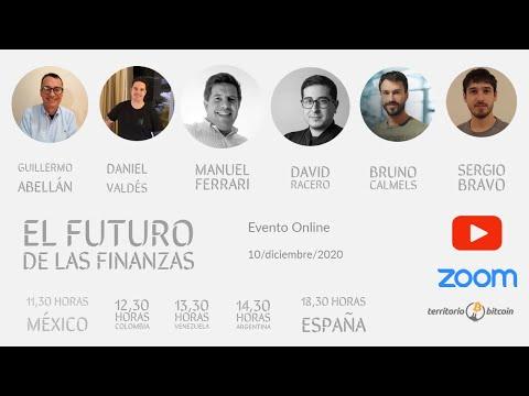El futuro de las finanzas - Evento online