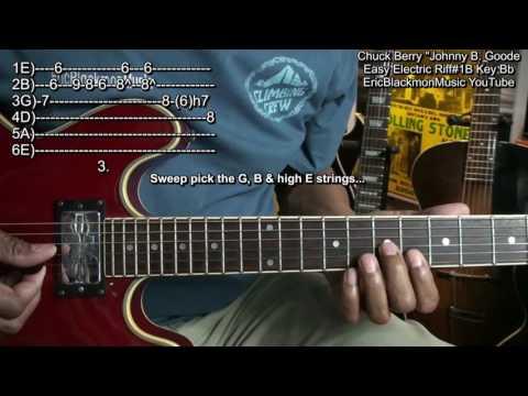 JOHNNY B. GOODE - Guitar Lesson | Music | Guitar lessons ...