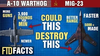 The Differences Between MiG-23 and A-10 WARTHOG (Thunderbolt II) thumbnail