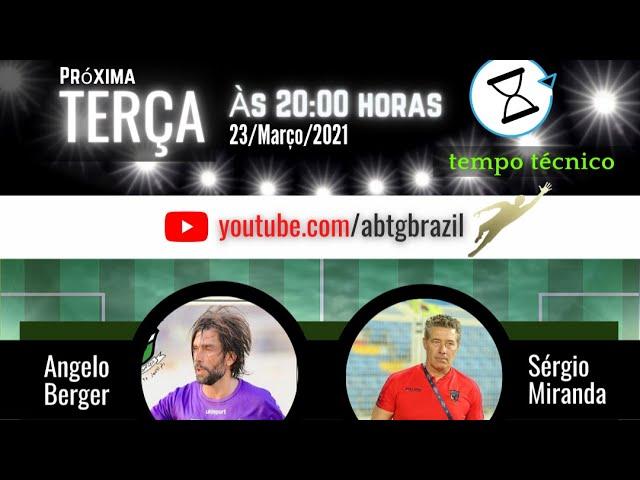 Serginho Miranda e Ângelo Berger no TEMPO TÉCNICO
