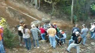 Buggy roll-over recovery - 2008 CAOS Fall for All - Gray Rock ORV - Mt. Olive, AL