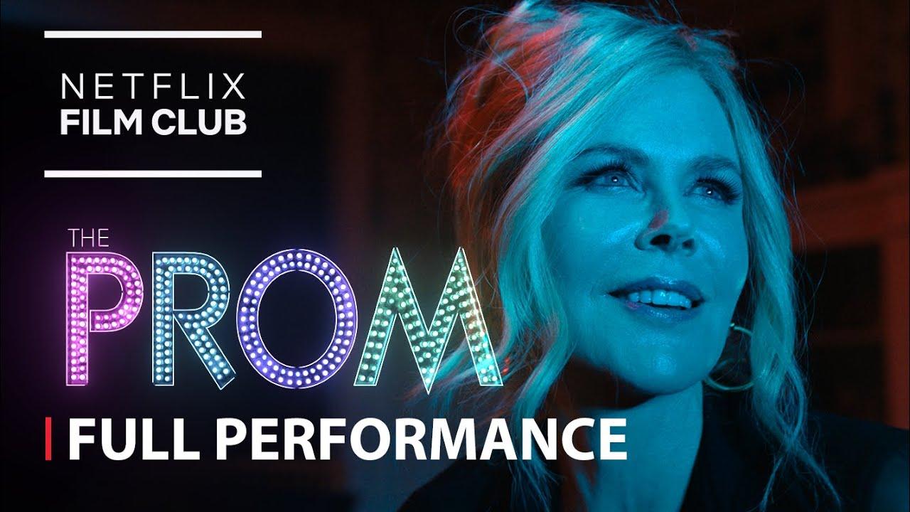 Nicole Kidman – ZAZZ Full Performance feat. Jo Ellen Pellman | The Prom