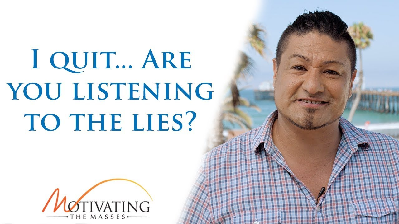 Matt Gil - I quit... Are you listening to the lies?