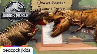 Dinosaur Training Center UNDER ATTACK! | JURASSIC WORLD