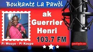 BOUKANTE LA PAWOL - Ann Boukante ak Guerrier /  Jeudi 24 Janvier 2019