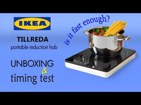 Portable Induction Hob Tillreda Ikea Unboxing Testing By Videosabout Channel