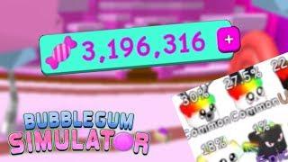Cómo obtener un montón de caramelo rápido en Roblox Bubble Gum Simulator