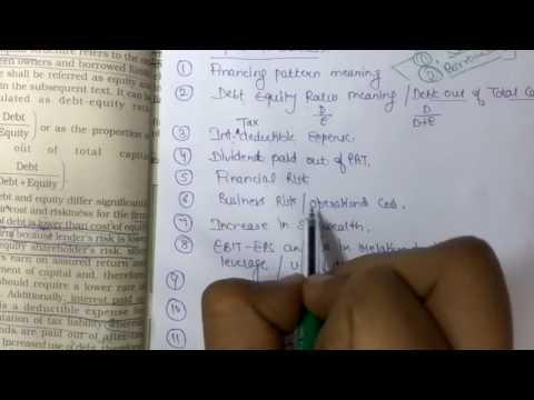 Class 12 Financial Management by Mayank Jain, Business Studies, Chapter 9, Part 2