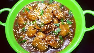Chinese Orange Chicken Recipe|Orange Chicken Gravy|Orange Juice Chicken Recipe
