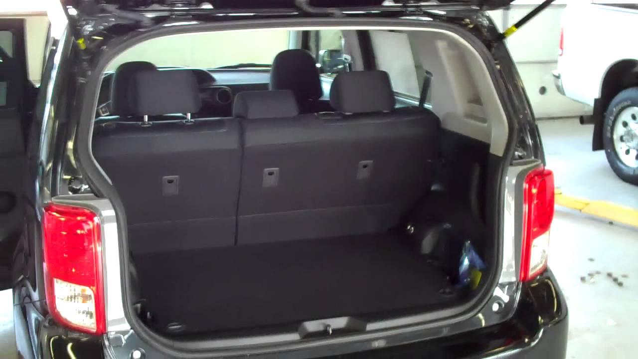 2012 scion xb interior overview youtube