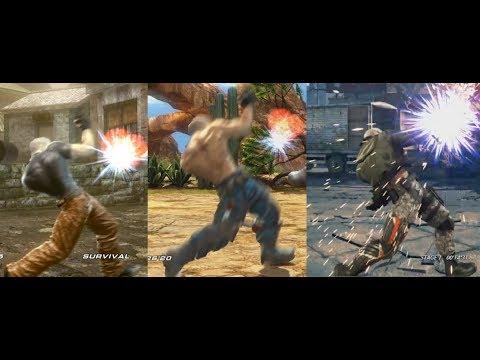 Bryan Fury - Taunt Evolution (Tekken 3 - Tekken 7)