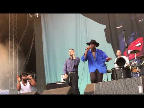 Young Fathers - In My View live at UPark 2018 (Kiev, Ukraine, 26.07.2018)