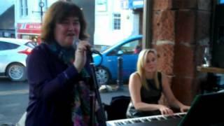 Susan Boyle - Susan Boyle stuns diners at a Bathgate cafe