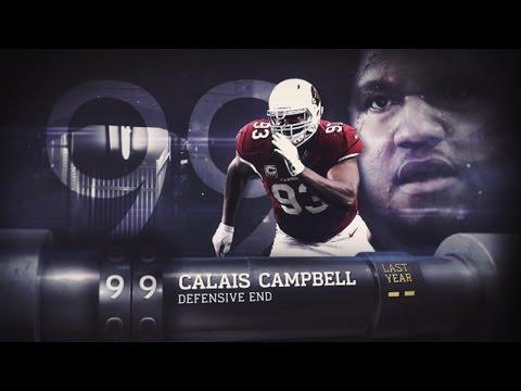 #99 Calais Campbell (DE, Cardinals) | Top 100 Players of 2015