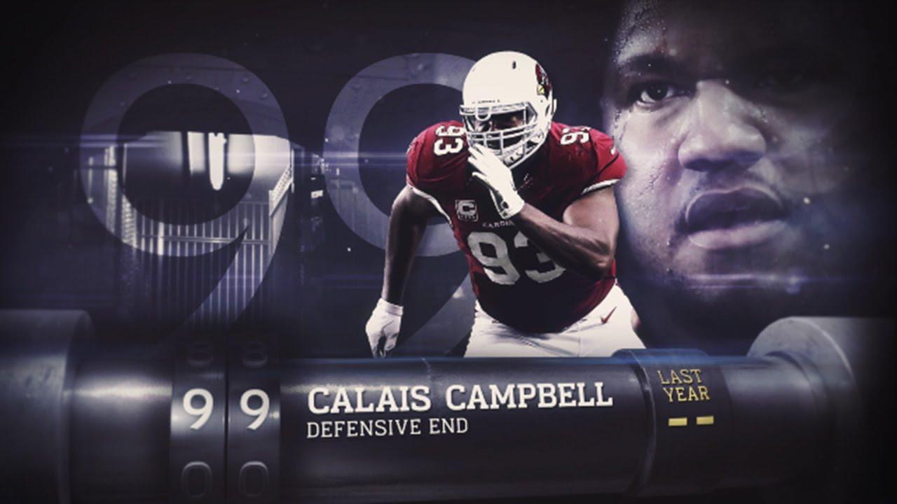 99 Calais Campbell DE Cardinals