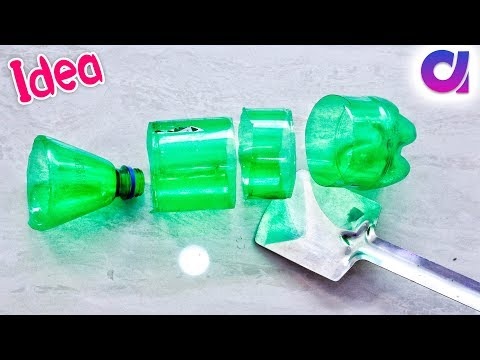 Best use of waste plastic bottle idea | plastic bottle craft | best out of waste | Artkala 450