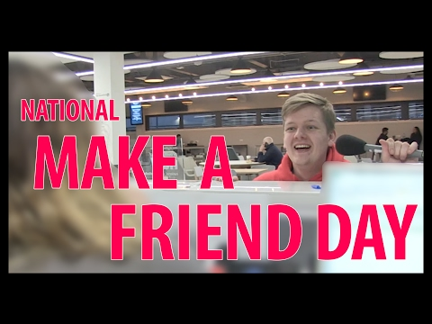 Tigman - National Make a Friend Day