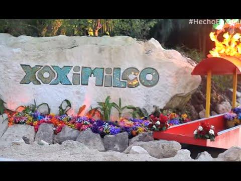 Xoximilco,une réplique de la célèbre attraction de Mexico