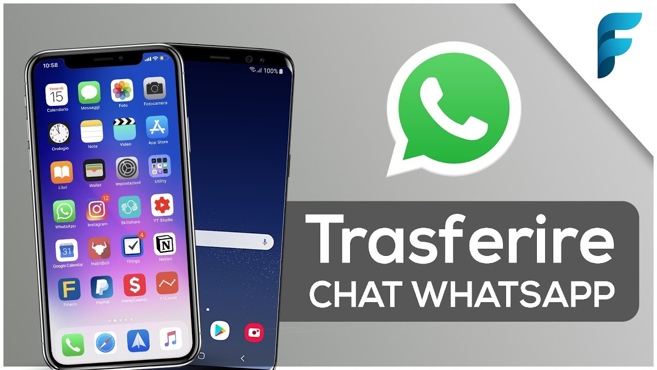 Transfer Whatsapp Chat From Iphone To Android Or From Android To Iphone Tutorial 2019