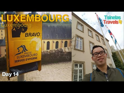 Europe Solo Travel Day 14 of 30 - Luxembourg City, Luxembourg