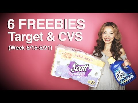 ★ 6 FREEBIES - Target & CVS Coupon DEALS...